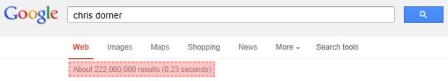 Chris Dorner search results